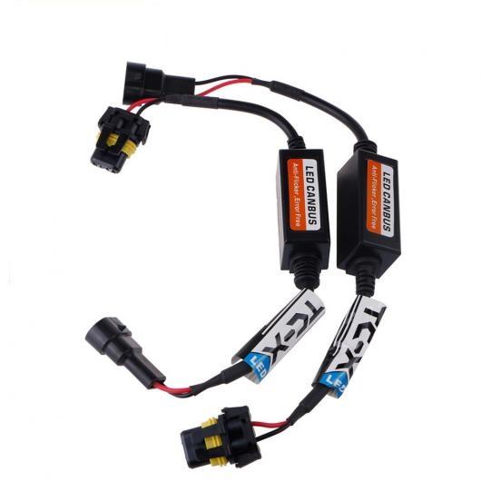 AL キャンセラー 1ペア LED 負荷抵抗 ワーニング PTF ライト DRL ちらつきなし OBC 選べる2バルブ形状 HB3(9005),HB4(9006) AL-AA-5830