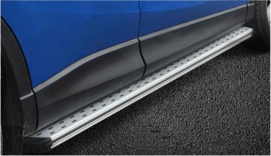 AL 車用メッキパーツ マツダ CX-5 2013 2014 2015 2016 2017 ランニングボード サイドステップ アルミバーペダル デザイン ナーフ バー AL-AA-5895