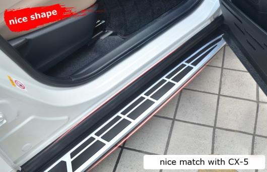 AL 車用メッキパーツ マツダ CX-5 2012-2017 ランニングボード サイドステップ バー 人気 スタイル SUV experiences AL-AA-5951