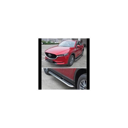 AL 車用メッキパーツ 車アルミニウム合金 ランニングボード サイドステップ ナーフ バーペダル 17 マツダ CX-5 2017 2018 タイプB AL-AA-5945