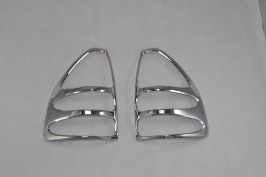 AL 車用メッキパーツ ABS クローム トヨタ ランドクルーザー プラド120 テール ライト リア ランプ カバー プラドFJ120 2003 2004 2005 2006 2007 2008 AL-AA-6253
