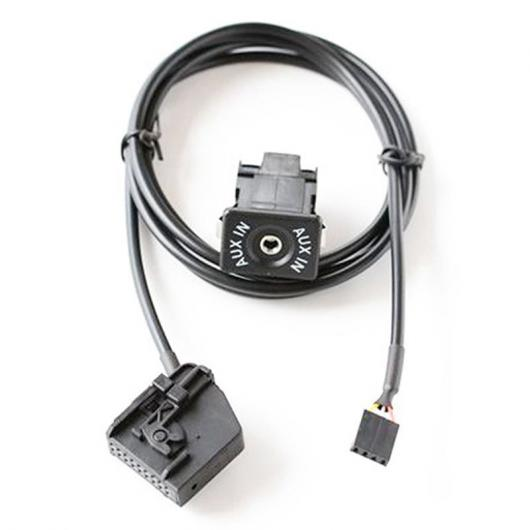 AL 車用ケーブル CD チェンジャー AUX ケーブル オーディオ アダプタ メルセデス・ベンツ COMAND 2.0 AL-AA-6680