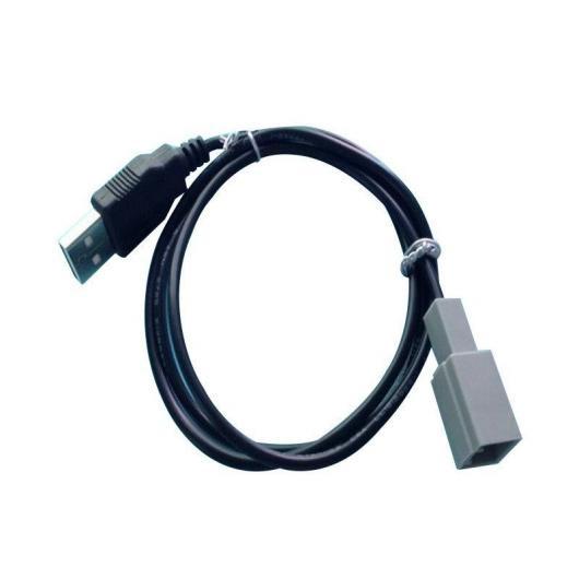 AL 車用ケーブル プラグ USB アダプタ コネクタ トヨタ カムリ RAV4 EZ CD ラジオ オーディオ メディア ケーブル データ ワイヤー AL-AA-6821