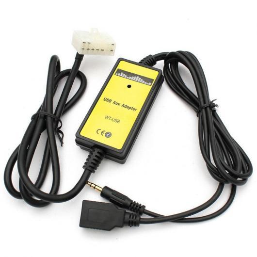 AL 車用ケーブル トヨタ 4 ランナー レクサス 5 オーディオ ラジオ+7PIN USB AUX イン MP3 プレーヤーインタフェース アダプタ AL-AA-6938