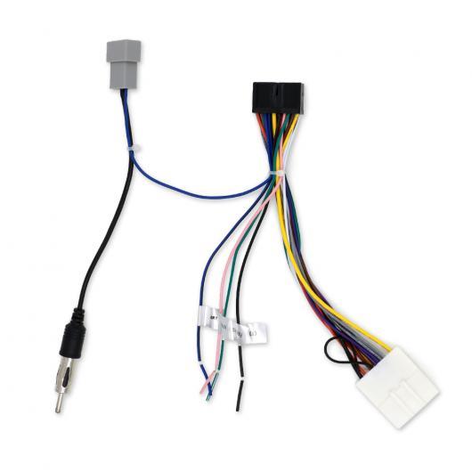 AL 車用ケーブル カー DVD 2DIN 電源 ケーブル 日産 AL-AA-7417