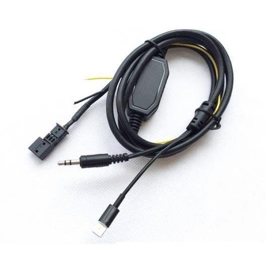 AL BMW E39 E46 E38 E53 X5 16:9ナビゲーション3PIN AUX アダプタ ケーブル 充電 ケーブル ミニ USB プラグ iPhone BMW AUX MINI USB AL-AA-7070