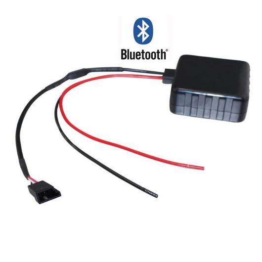 送料無料! AL カー Bluetooth モジュール AUX オーディオ 3PIN BMW E39 E46 E53 X5 ラジオ ステレオ AUX ケーブル アダプタ ワイヤレス AL-AA-7282