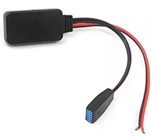 送料無料! AL カー Bluetooth AUX アダプタ モジュール オーディオ レシーバー ステレオ 12ピン AUX ラジオ BMW E46 3 シリーズ 2002- 2006 ビジネス環境 CD AL-AA-7299