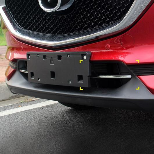 AL 車用メッキパーツ ABS クローム フロント バンパー 吸気グリルトリム マツダ CX-8 CX8 2017 2018 2019 AL-AA-7991