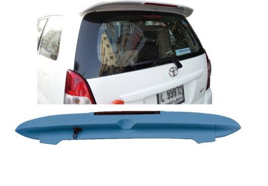 AL ABS テールウィング ルーフバイザー リアスポイラー リップ トヨタ INNOVA ライト 未塗装 AL-AA-8102