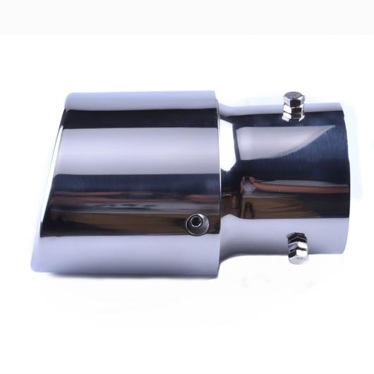 AL 汎用マフラーチップ マフラーカッター ステンレス スチール エキゾースト パイプ テール デュアル AL-AA-9232