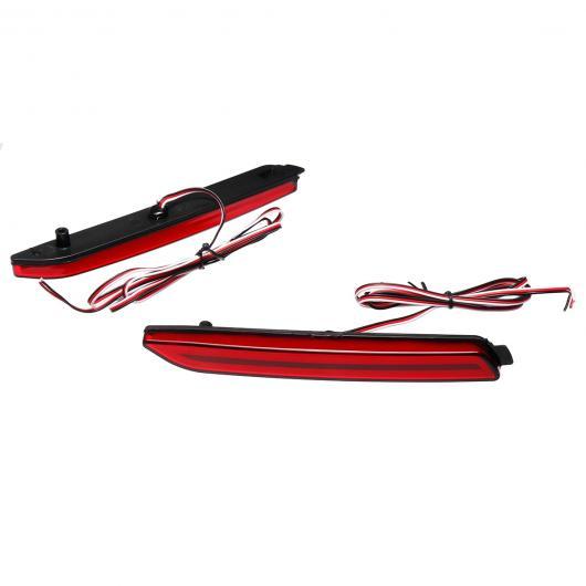 AL LED テールブレーキライト リア バンパー リフレクター シグナル ランプバー 3 ボタン イノーバ レクサス GX470 RX300 5630 マトリックス AL-AA-9374