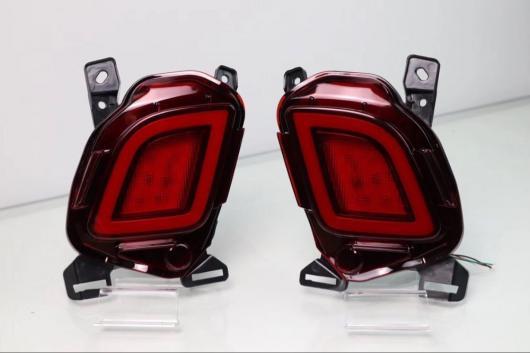 AL トヨタ ハイランダー クルーガー XU50 2014-2018 多機能 LED リアフォグランプ バンパー ライトブレーキテール リフレクター AL-AA-9389