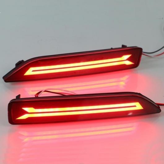 AL LED テールライトリアフォグランプ DRL ブレーキ バルブ リフレクター ホンダ シティ 2012 2013 2014 多機能 タイプA AL-AA-9550