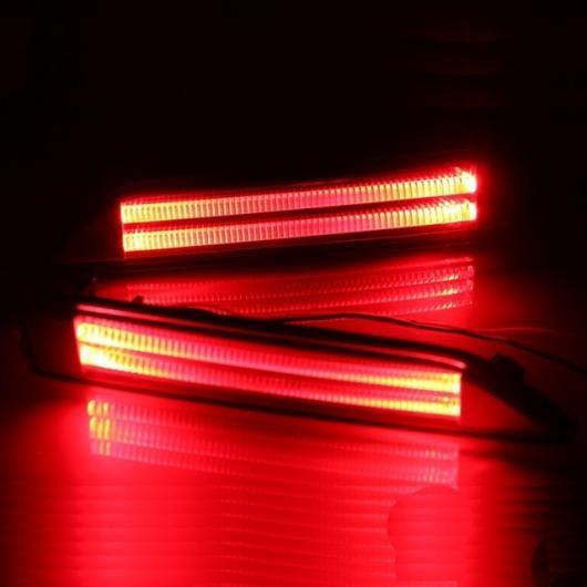 AL LED テールライトリアフォグランプ DRL ブレーキ バルブ リフレクター ホンダ シティ 2012 2013 2014 多機能 タイプB AL-AA-9550