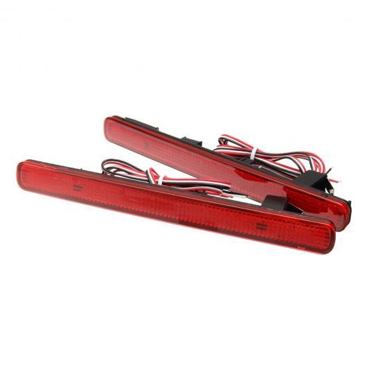 AL 12V LED リア バンパー リフレクターテール ストップ ブレーキライト ワーニング 夜間走行 フォグランプアキュラ TSX セダン 09-14 アコード AL-AA-9474