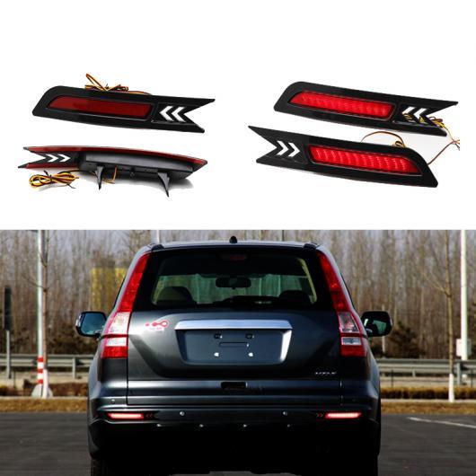 AL ホンダ CRV 2010 2011リフレクター LED バック テールリア バンパー ライトブレーキランプ ストップ ワーニング ライト AL-AA-9574
