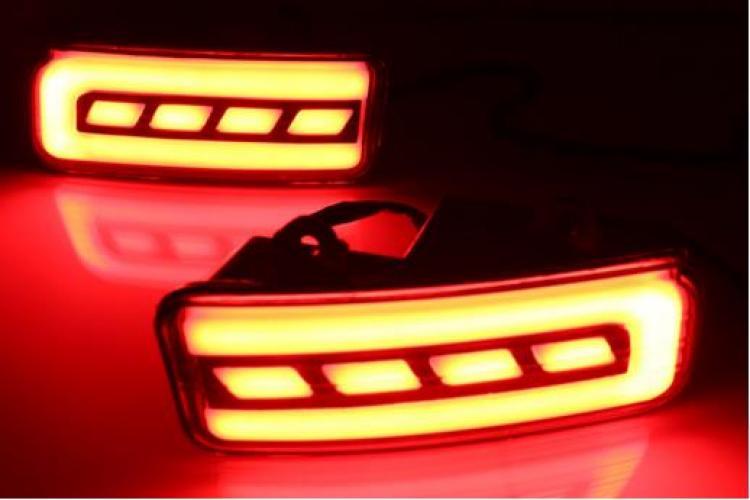 AL ランプ CRV 2個 テールリア バンパー LED リフレクターストップブレーキフォグランプ AL-AA-9587