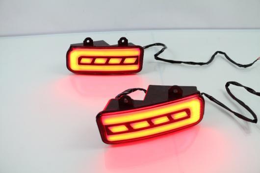 AL リフレクター LED リア バンパー ライト リアフォグランプ ブレーキライト ホンダ CRV 2012-16 running brake AL-AA-9592