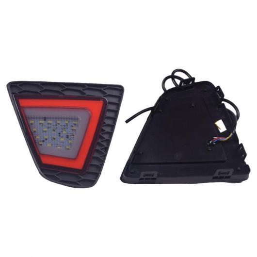 AL LED リア バンパー ライトブレーキテールライト デイタイムランニングライト ホンダ フィットジャズ 2014- 2016 AL-AA-9631