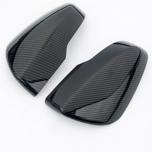 AL カバー SK 2019 ABS クローム サイドフェンダー ウィング バックミラー ドア ミラー トリム carbon fiber grain AL-BB-0505