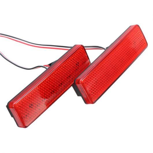 AL LED ブレーキ ライト レッド リア バンパー リフレクター テール ストップ ランプ ボクソール オペル ルノー 日産 AL-BB-0388