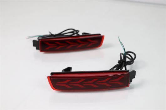 AL LED リア バンパー リフレクター テール ランプ ブレーキ インフィニティ FX37 35 50 日産 セントラ ジューク ムラーノ クエスト テラ 選べる2タイプ タイプA・タイプB AL-BB-0396