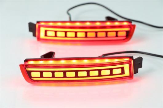 AL LED リフレクター ランプ テール リア フォグ ライト トリム バンパー インフィニティ FX35 FX37 FX50 2009 2010 2011 2012 2013 選べる2タイプ タイプA・タイプB AL-BB-0405