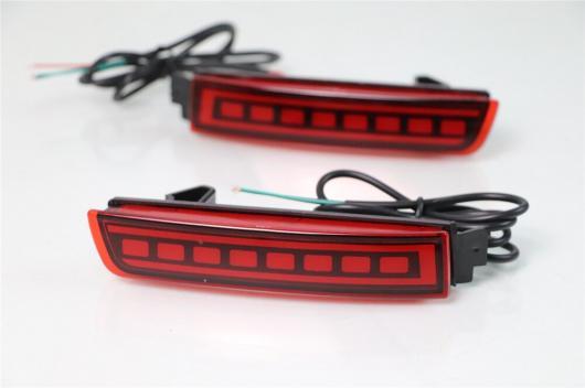 AL LED 多機能 リフレクター ランプ テール リア フォグ ライト トリム バンパー ブレーキ 警告 日産 テラ 2018 2019 選べる2タイプ タイプA・タイプB AL-BB-0410