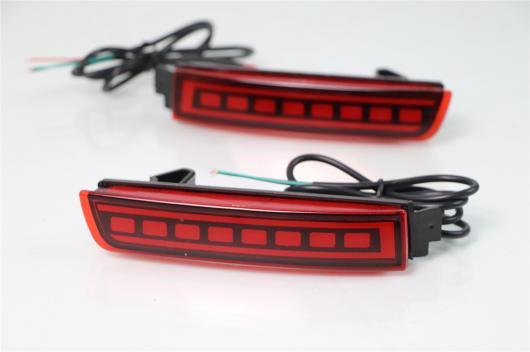 AL LED リフレクター ランプ バンパー ライト ブレーキ 警告灯 インフィニティ ESQ 2014 2015 2016 2017 2018 選べる2タイプ タイプA・タイプB AL-BB-0418