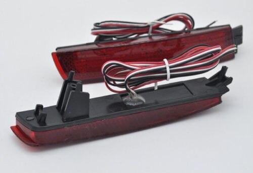 AL インフィニティ FX35 F37 FX37 レッド リア バンパー リフレクター LED ブレーキ テール ライト AL-BB-0421