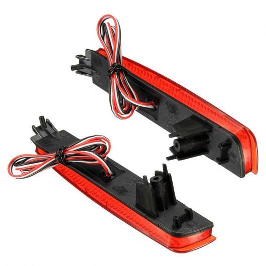 AL リア 警告 LED レッド バンパー リフレクター レッドレンズ ブレーキ テール 日産 ジューク ムラーノ インフィニティ FX35 FX37 AL-BB-0442