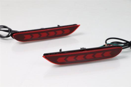AL 多機能カー LED リフレクター ランプ リア バンパー 日産 エクストレイル 2014 2015 2016 AL-BB-0458