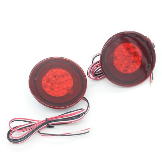 AL 日産 デュアリス バックアップ テール リア バンパー ランプ LED リフレクター ストップ ブレーキ ライト フォグ AL-BB-0473