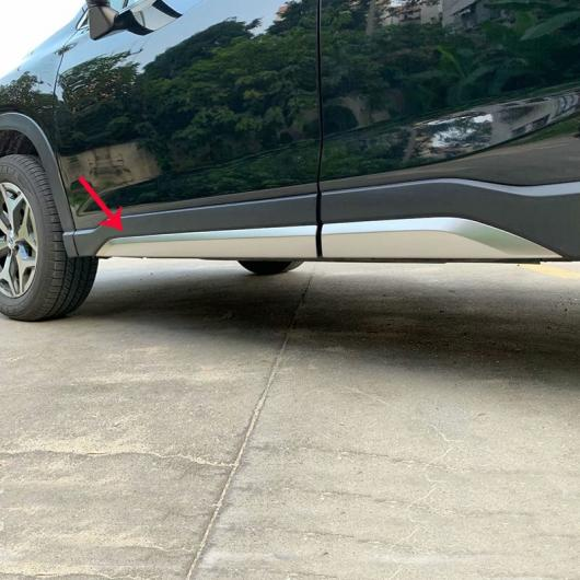 AL カバー ABS マットサイド ドア ボディ トリム フレーム スティックストリップストリーマ スバル フォレスター SK 2018 2019 AL-BB-0503