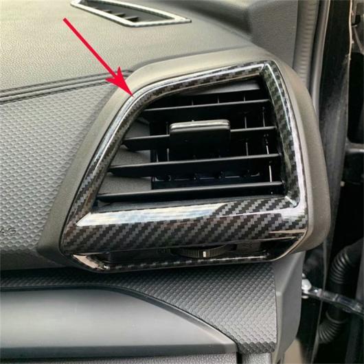 AL 前面 エアコン アウトレット ベント フレーム ABS スバル フォレスター 2019 2020 選べる2バリエーション ABS Chrome,ABS Carbon Fiber AL-BB-0593
