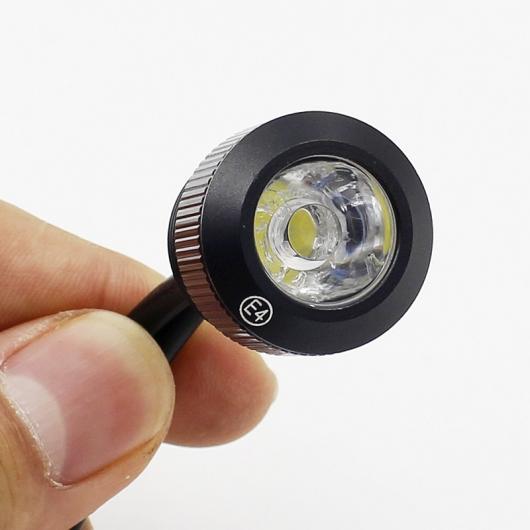 AL 多機能 14ピースセット LED イーグルアイ デイタイム ランニングライト フォグランプ デイライト ターン シグナル ステアリングランプ White Day Light 6000K 14LED 21W Turn Yellow Black Body AL-BB-1209