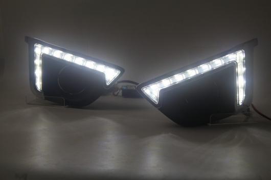 AL ホンダ フィット2015 LED DRL デイタイム ランニングライト ドライビング ライト 防水 with wireless switch AL-BB-1274