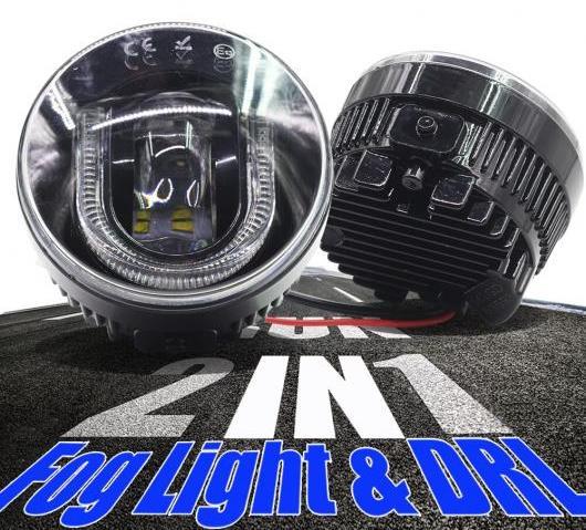 AL スバル シトロエン リンカーン ポルシェ スタイリング LED バルブ フォグライト DRL デイタイム ランニングランプ AL-BB-1378