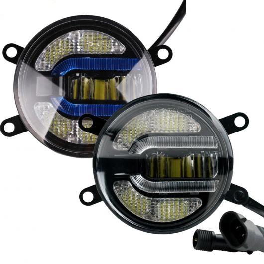 AL 2 × 3.5 インチ LED フォグ バルブ ランプカーデイタイムランニングライト U 形状 DRL パイ スバル レガシィスズキ 選べる2バリエーション Color A・Color B AL-BB-1433