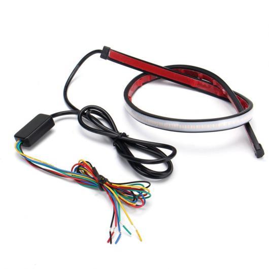 AL 30cm スイッチバック LED ストリップ日中走行用ライト DRL シーケンシャルフロー 方向指示灯 AL-BB-1442