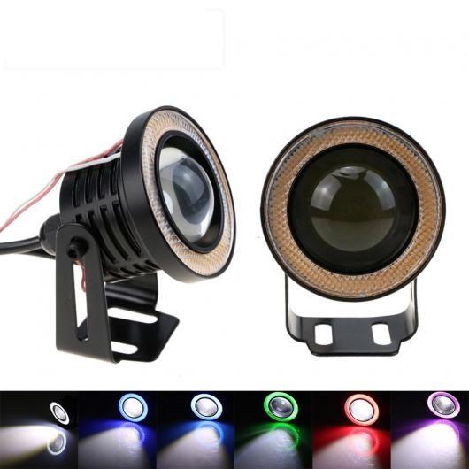 AL LED フォグライトハイパワー角度アイデイタイムランニングライト DRLCAR スタイリングライト CJ 選べる5バリエーション Crystal Blue~Purple 76mm(3inch) AL-BB-1446
