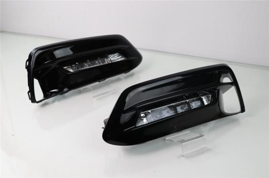 AL カー点滅 1セット 12V ABS LED DRL デイタイム シグナル ランニング ランプ 三菱 ASX 2013-2014 white AL-BB-1531
