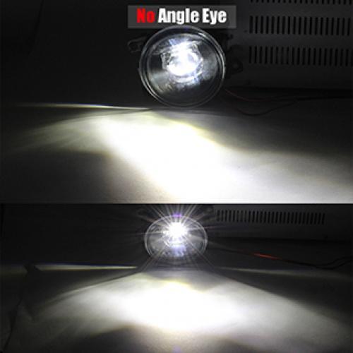 AL LED フォグ ライト エンジェル デイタイムランニング ランプ DRL 日産 フロンティア 2005-2015 2011- 2015 (2011-2015要メタルバンパー) No Angel Eye AL-BB-1702