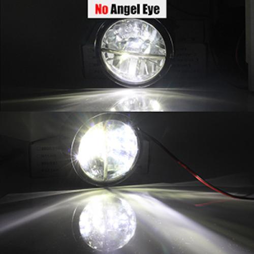 AL インフィニティ G G25 G37 H11 4000LM LED バルブ フォグ ライト エンジェル アイデイタイムランニング DRL 12 240V 2011 2012 2013 No Angel Eye AL-BB-1711