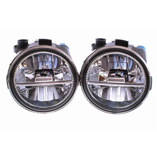 AL フォグ ランプ アセンブリ 20 ワット ライト 日産 ティーダ パトロール ローグ ノート キューブ Z12 2004-2015 LED DRL 1セット ホワイト AL-BB-1725