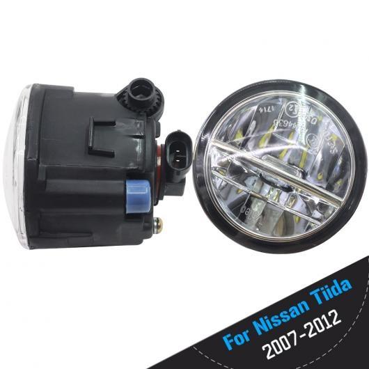 AL 日産 ティーダ 2007 2008 2009 2010 2011 2012 LED バルブ 4000LM フォグ ライト DRL デイタイムランニング 12 240V 選べる2カラー ホワイト・イエロー AL-BB-1751