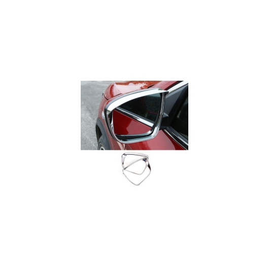 AL 日産 エクストレイル T32 2014 2015 2016 2017 2018 バックミラーカバー レイン アイブロー フレーム外装 AL-BB-1817