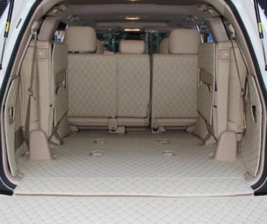 AL トランク マット トヨタ ランド クルーザー 7席/8席 防水 ブートカーペット LC120 LC200 ラゲッジ パッド 選べる5カラー ブラック~ブラック×ベージュ AL-BB-2098