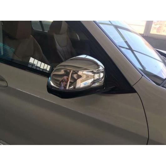 AL 2018 BMW X3 ABS クローム マット ウイング フェンダー リア ビュー ミラー 反射 キャップ トリム Chrome AL-BB-6551